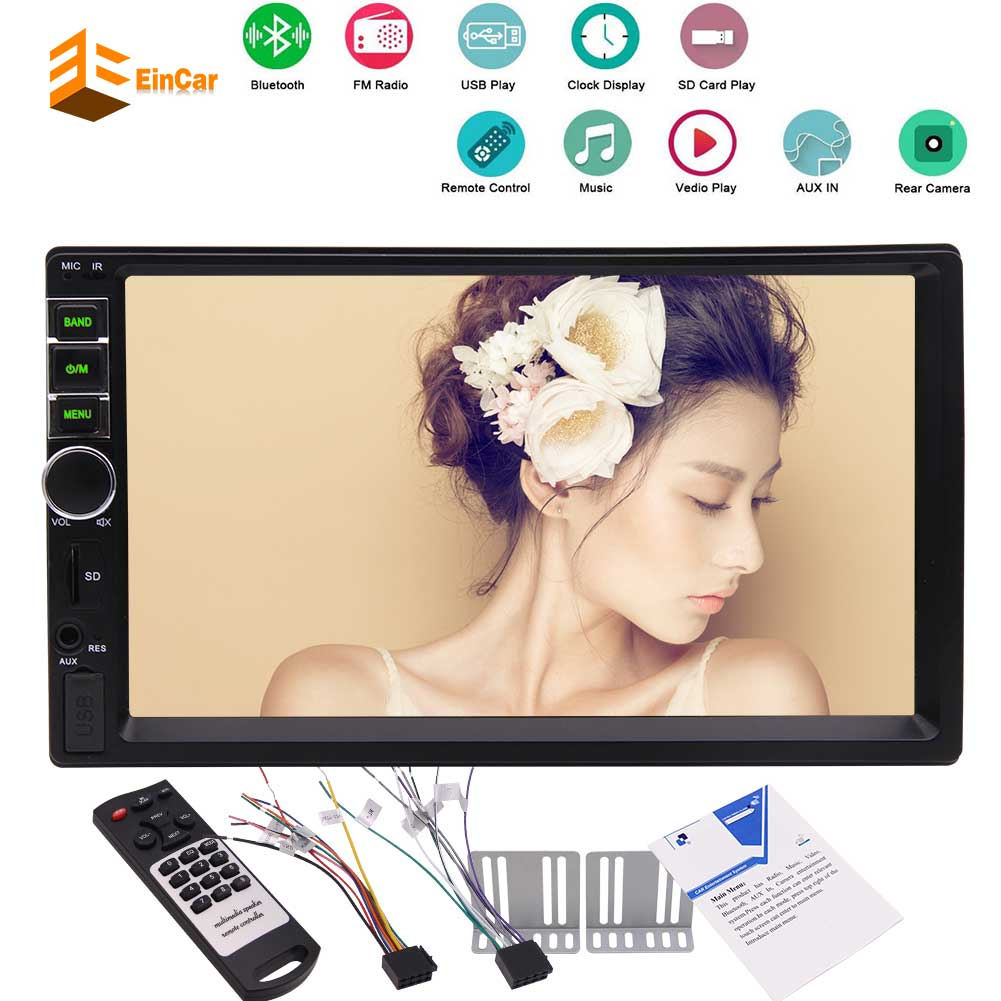 Wireless Backup Camera Eincar Mp5 Player Double 2 Din In Dash Car Fm Reversing Monitor Tft Lcd Wiring Diagram Please Refer To The Circuit 5this Stereo Radio Is Not Cd Dvd Gps Faceplate Removable